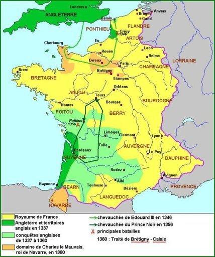 La guerre de Cent Ans | Seigneurs et rois en Guyenne | Scoop.it