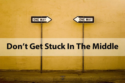 DON'T GET STUCK IN THE MIDDLE | Culturational Chemistry™ | Scoop.it