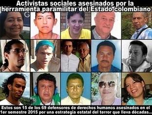 CNA: PAZ en COLOMBIA? - O ahora solo matarán los Paramilitares? - Cada 5 días es asesinado un Activista sSocial | La R-Evolución de ARMAK | Scoop.it