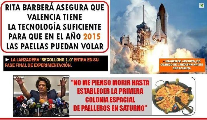 Paellas voladoras. Rita Barberá | Partido Popular, una visión crítica | Scoop.it