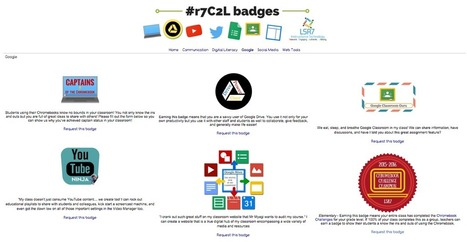 More Ideas for Badges in Professional Learning | Shake Up Learning | Web 2.0 for Education | Scoop.it