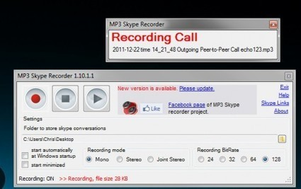 How Do I Record Skype Calls for Free? - Tech-Recipes | Techy Stuff | Scoop.it
