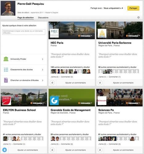 LinkedIn guide les étudiants dans leurs choix d'écoles | Conseils & Astuces | Scoop.it