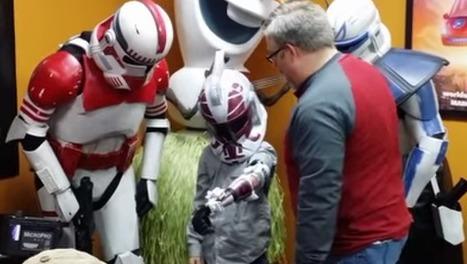 Georgia boy receives 3D-printed Star Wars prosthetic arm | Makerspaces in Libraries | Scoop.it
