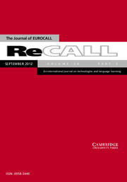 ReCALL special issue on Digital Games | TELT | Scoop.it
