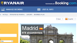 Ryanair entrega de nuevo a Booking su buscador hotelero | Online Travel Marketing desde una perspectiva global | Scoop.it