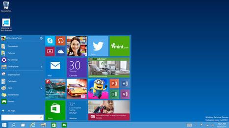 Las 5 mejores características del nuevo Windows 10 | Desarrollo de Apps, Softwares & Gadgets: | Scoop.it