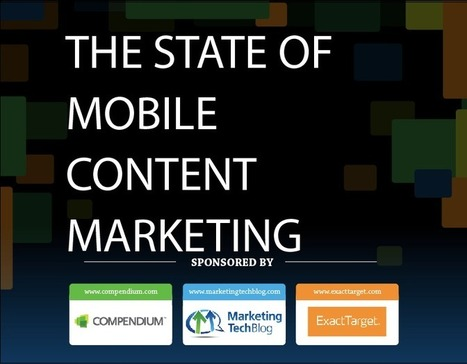 [Infographic] The State of Mobile Content Marketing | Compendium | Marketing de Conteudo | Scoop.it