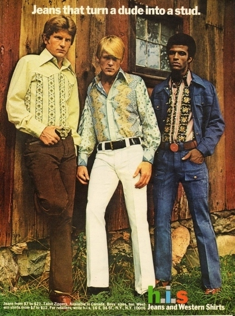 When Manly Men Wore Questionable Slacks | A Cultural History of Advertising | Scoop.it