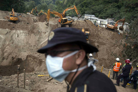 Rescue Teams Search For Hundreds Feared Dead In Guatemala Landslide | Inequality, Poverty, and Corruption: Effects and Solutions | Scoop.it