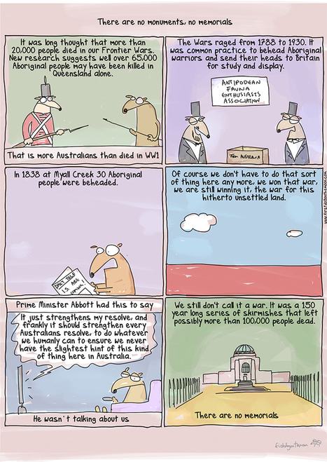 First Dog on the Moon on ... remembering the fallen - cartoon | Australian Writing & Culture | Scoop.it