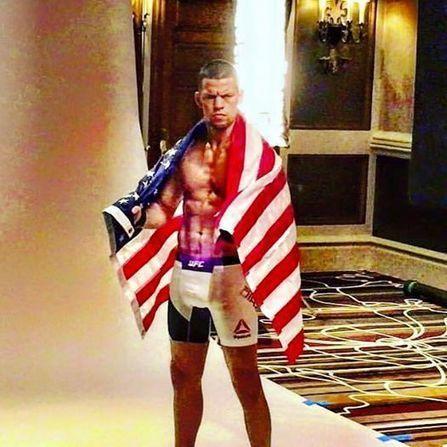 UFC 196: McGregor vs. Diaz - Shredded Nate sends a message: 'This is America' - UFC 196 | IdeaOur.com | Scoop.it
