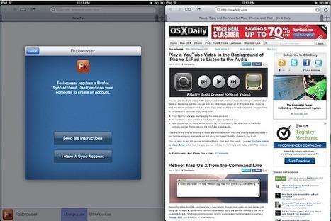 Get FireFox on the iPad (Sort Of) with Foxbrowser | IKT och iPad i undervisningen | Scoop.it