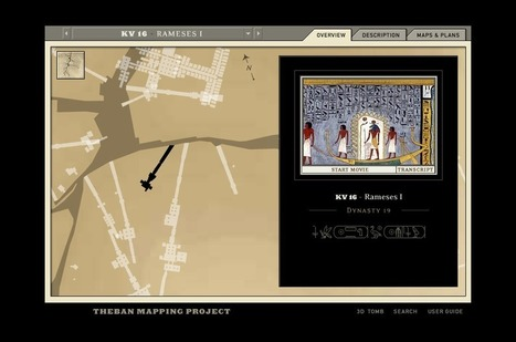 Free Technology for Teachers: An Interactive Atlas of the Valley of the Kings | Edumathingy | Scoop.it