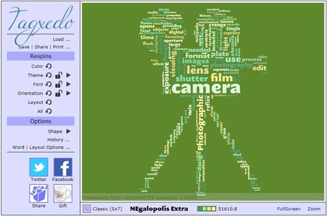 Create Stunning Custom Word Clouds: Tagxedo | Information Powerhouses | Scoop.it