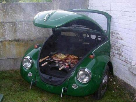Twitter / IntThings: Now that's a creative grill! ... | creative ideas | Scoop.it