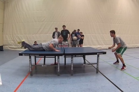 Ping Pong + Soccer = Awesome | #People | Scoop.it