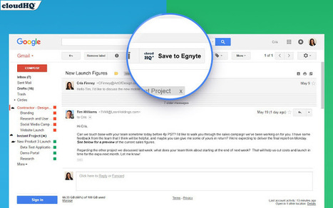 One-click way to save emails to Egnyte | cloud computing | Scoop.it