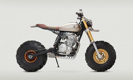 Custom Honda XR650L by Classified Moto | Highsnobiety | Cafe racers | Scoop.it