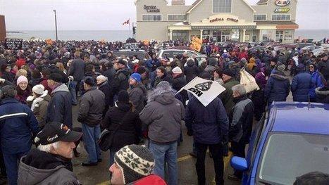 4000 Madelinots marchent contre la réforme de l'assurance-emploi | Est du Québec | Radio-Canada.ca | Mouvement. | Scoop.it