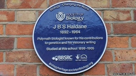 BBSRC mention: Blue plaque for genetics pioneer | BIOSCIENCE NEWS | Scoop.it