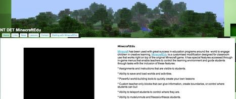 NT DET MinecraftEdu | MinecraftEdu | Scoop.it
