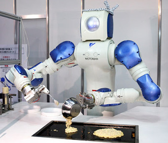 Hello Robots, Goodbye Fry Cooks | Robots and Robotics | Scoop.it