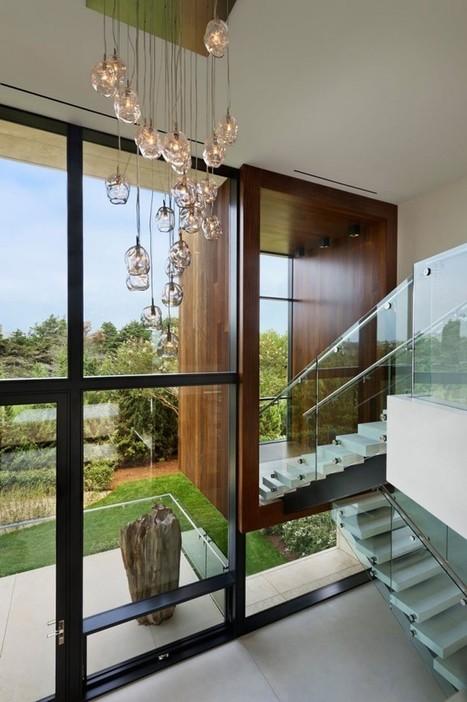 Villa contemporaine près de New York - ARCHIONLINE   Maison   Scoop.it