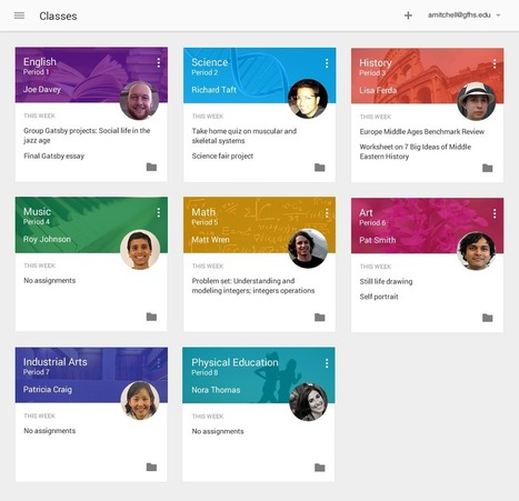 Google debuts Classroom, a free Apps for Education tool to help teachers create and collect assignments | The 21st Century | Scoop.it