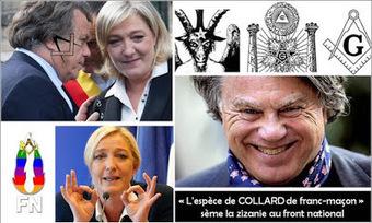 Le FN est mort : victime dun putsch de la racaille maçonnique #FN | Toute l'actus | Scoop.it