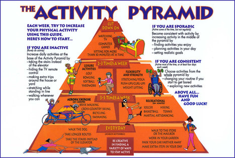 Physical Activity Pyramid:   Healthcare Methods   Scoop.it