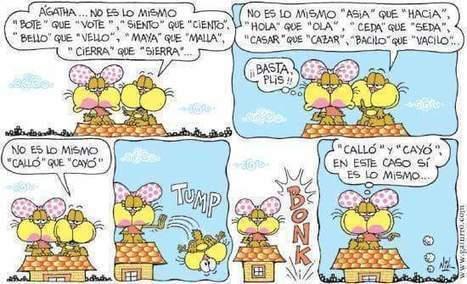 Palabras homófonas | Español para los más pequeños | Scoop.it