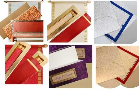 A Royal Invite for Grand Gourmet Wedding | Hindu Wedding Cards | Scoop.it