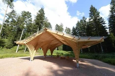 Abri de la Tourbière BERTRICHAMPS | Architecture Bois Magazine - Maisons Bois - Construction - Architecture - Reportages - Suivi de chantier | construction bois et reglementation thermique RT 2012-2020 | Scoop.it