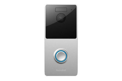 The RemoBell smart video doorbell detects both body heat and motion to reduce false alarms | personal security devices | Scoop.it