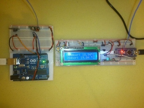 Indoor/outdoor wireless thermometer using Arduino | Embedded Lab | Arduino, Netduino, Rasperry Pi! | Scoop.it