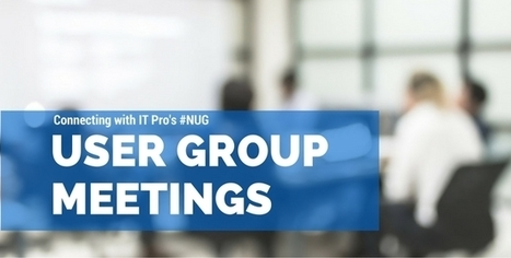 Upcoming Nutanix User Group Meetings - Month of September | Virtualization | Scoop.it