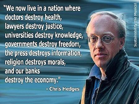 Chris Hedges, journaliste dissident - www.la-bas.org | Intervalles | Scoop.it