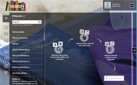 themeefy – Una forma sencilla de crear revistas en formato digital | paprofes | Scoop.it