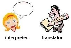 Interpreter vs. Translator - Defero Law   Metaglossia: The Translation World   Scoop.it