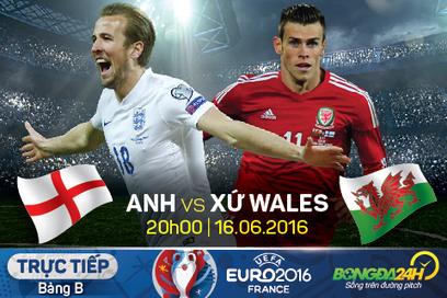 Trực tiếp Anh vs Wales 20h00 ngày 16/06 bảng B Euro 2016   Trang tin tức   Scoop.it