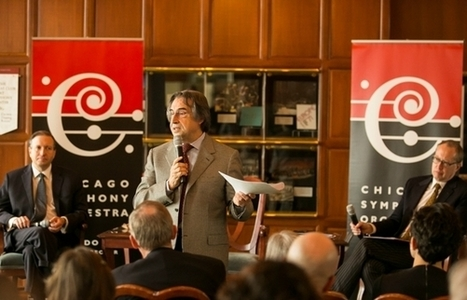 As Chicago Symphony unveils 2015-16 season, Muti pushes live streaming, concerts in Cuba | Concert Halls, Auditoriums & opera houses | Scoop.it