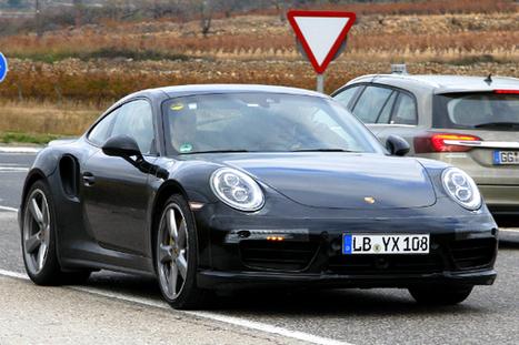 Porsche 991 Turbo facelift spy shots | Total 911 | The World of Porsche 911 | Scoop.it
