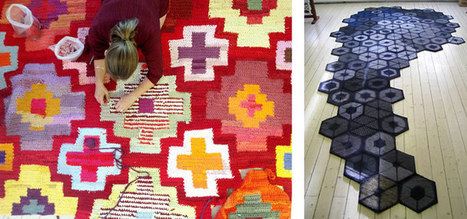 Re Rag Rug | Interesting facts handknotted carpets | Scoop.it