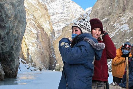 A Himalayan Highway on the Frozen Zanskar River | Travel Bites &... News | Scoop.it