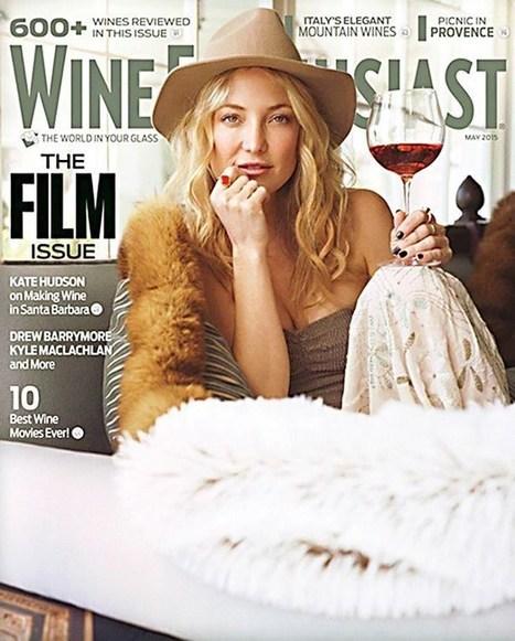 Make #wine, not war: #KateHudson talks about being in the business with ex #MattBellamy | Vitabella Wine Daily Gossip | Scoop.it
