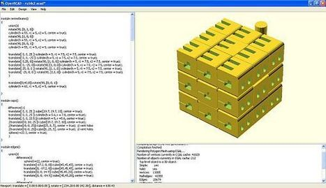8 programas de modelado 3D para principiantes | Trimaker | Herramientas Digitales para el profesorado | Scoop.it