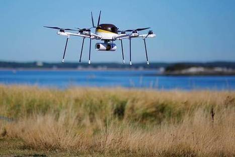 UPS Uses Drone to Deliver Package to Boston-Area Island | PSLabor:  Your Union Free Advantage | Scoop.it