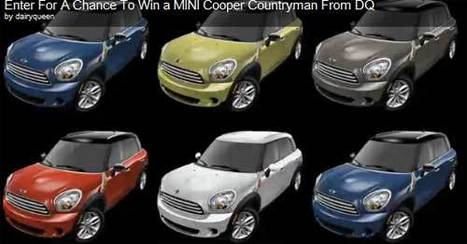 I Rate Films Mini Cooper Countryman Dairy Queen Contest | Film reviews | Scoop.it