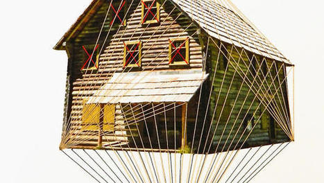Abandoned Houses Come Alive Through Embroidery | Entrevues | Scoop.it